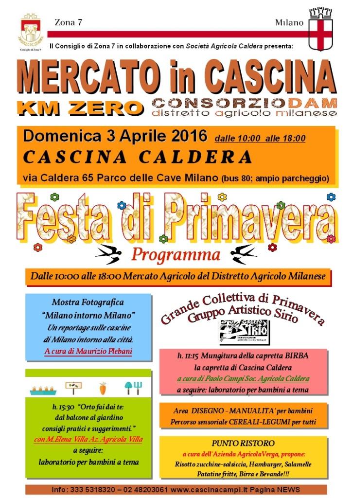 CALDERA Locandina 3 Aprile Festa di Primavera
