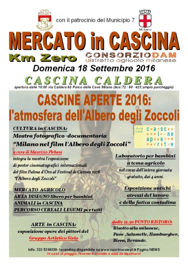 CALDERA Locandina 18 Settembre 2016 Cascine Aperte