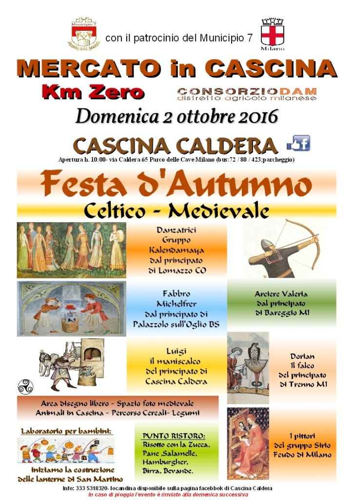 Caldera locandina 2 ottobre 2016 Festa d'Autunno